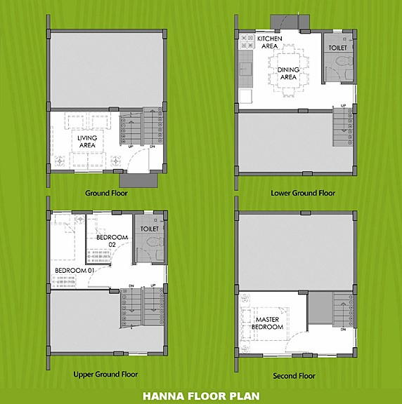 Hanna Floor Plan House and Lot in Bohol