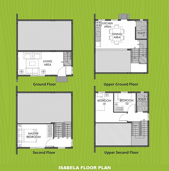Isabela Floor Plan House and Lot in Bohol