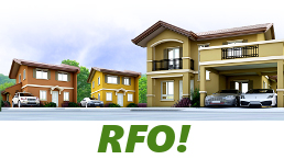 RFO Units for Sale in Camella Bohol.